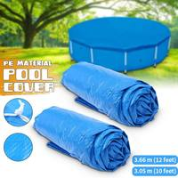 Water Pool Cover Frame Swimming Pool Above Ground Cover 10/12 feet Swimming Pool Lid Anti Leaves Dust Cold Rain