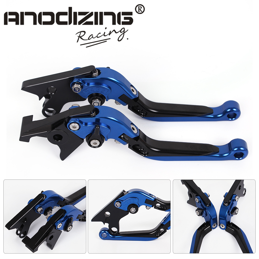 F-14 BD-60 Adjustable CNC 3D Extendable Folding Brake Clutch Levers For KAWASAKI GSX1100F 1991-1993 Bandit GSF1200 97-00 gt motor f 16 dc 80 adjustable cnc 3d extendable folding brake clutch levers for moto guzzi breva 1100 norge 1200 gt8v