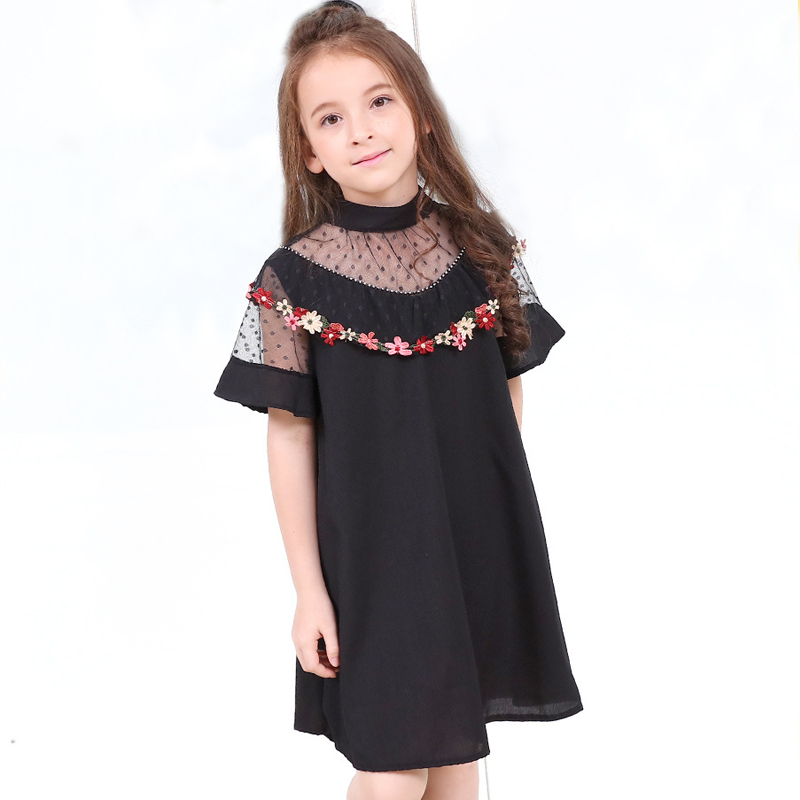 little girl chiffon summer party dress 2018 teen girl clothes teenage girls dresses size 4 5 6 7 8 9 10 11 12 13 14 15 years kid elegant little girls dresses summer 2018 big girl dress teenage clothing kids dresses size for 3 4 5 6 7 8 9 10 11 12 years