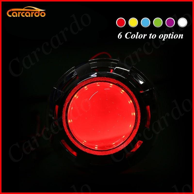 2PCS LED πολύχρωμο αυτοκίνητο διάβολος - Φώτα αυτοκινήτων - Φωτογραφία 4