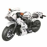 Motorcycle Racing Model Building Blocks Compatible With Legoing Technic 712 PCS Bricks Gifts Educational Toys For Children