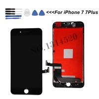 100% AAAA LCD For iPhone 7 Plus LCD Replacement Quality Display Touch Digitizer For iPhone7 Screen Tool Kits Case LCDS