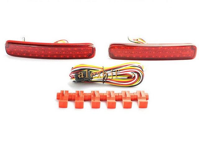 Varthion Luzes de Freio Do Carro para Toyota Highlander 2011 ~ 13, Luzes de freio + Sinais de Volta + Noite Correndo Luzes de Advertência, 3 in1