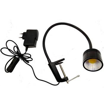 flexible task lighting for workbench