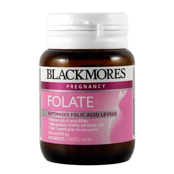 Australia BM Folate Suplemento De Salud ácido fólico para el embarazo y preconcepcion previene defectos del tubo nervioso