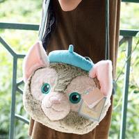 New Big Duffy Bear Friend Gelatoni Japanese Anime Plush Backpak Cute Cat Plush Shoulder Bag Best Birthday Gifts For Lovers Girls