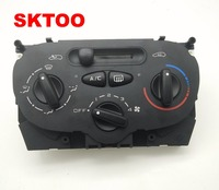 High Quality Air AC Heater Panel Climate Control Switch for Peugeot 206 207 307 C2 Citroen Picasso 9624675377 X666633H