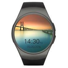 KW18 Bluetooth smart uhr vollbild Smartwatch Telefon Unterstützung SIM TF Karte Herzfrequenz für apple android OS