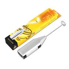 LUCOG Электрический вспениватель молока ручной мини-миксер для кухни батарея мощность Молоко Яйцо кофе соковыжималка еда портативный блендер