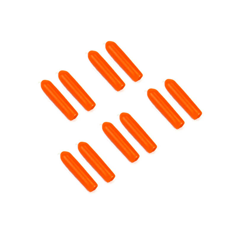 10 Chiếc Cao Su Điều Khiển Từ Xa Phát Chống Trơn Trượt Dính Bật Nắp Vỏ Bọc Cho Futaba Frsky Radiolink RC Drone FPV màu Đỏ Đen