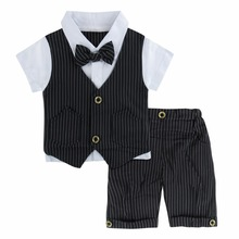 d57cdf19d087 Appena nato Del Bambino Vestiti Del Ragazzo Signore Formale Vestito Da  Sposa Battesimo vestito per Infantile Dei Vestiti di Esta.