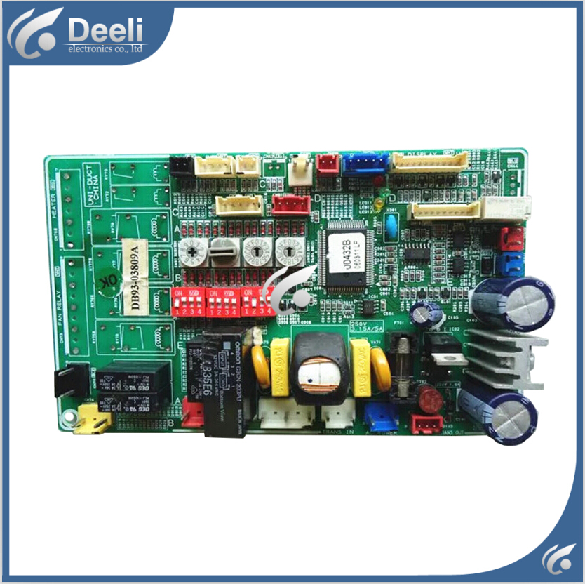 95% new for Samsung DVM multi line Air conditioning computer board DB93-03809A 00422B PC board good working 95% new good working for air conditioning computer board db93 06987h lf pc board