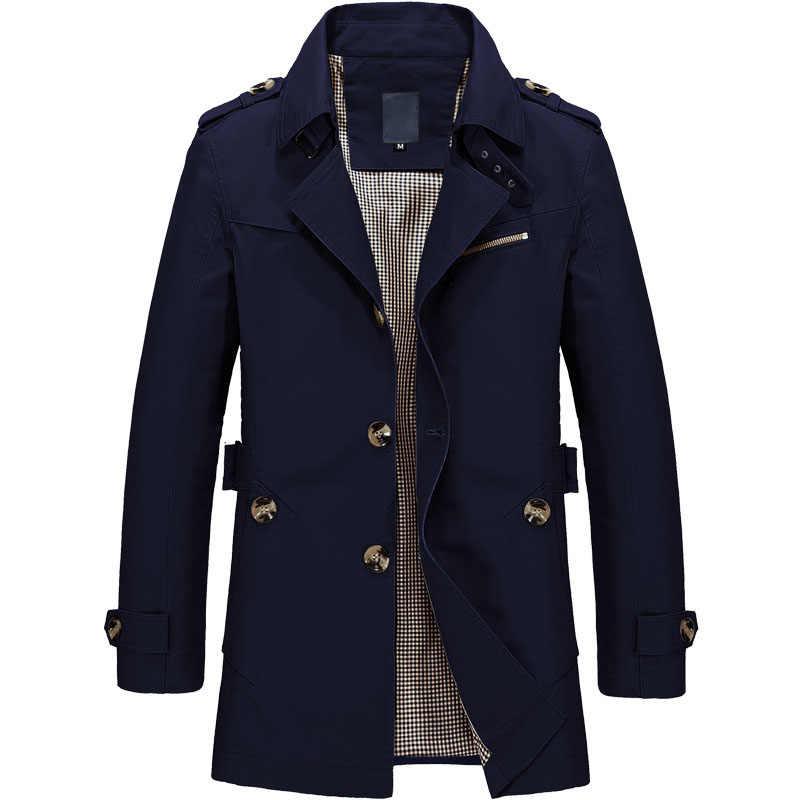 Новое поступление мужская куртка теплая с хлопковой подкладкой модная ветровка качество военные мужские пальто черные куртки хаки мужские s 5XL