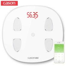 GASON S6 Body Fat Scale Floor Scientific Smart Electronic LE