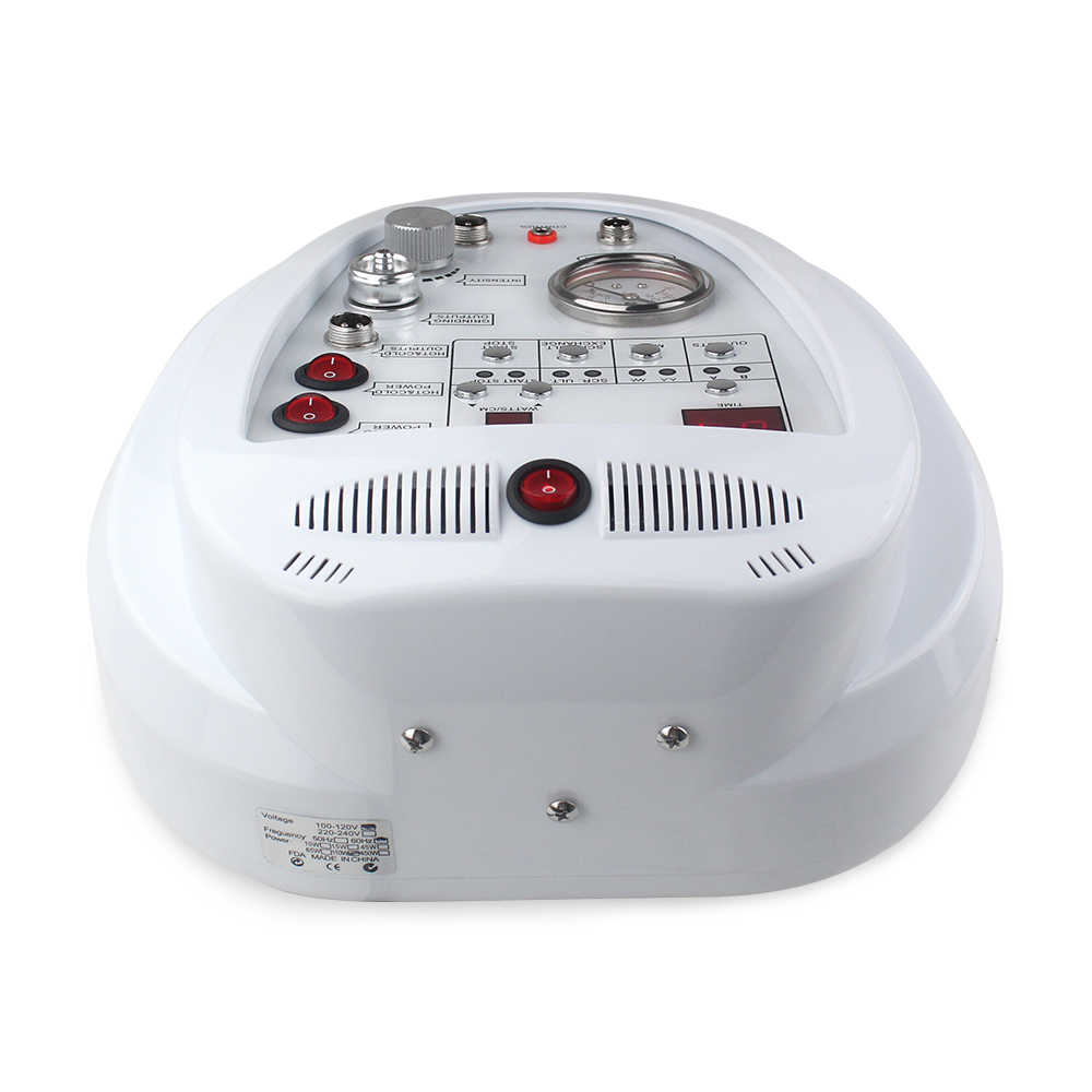 4 en 1 diamant Microdermabrasion Machine Dermabrasion Anti-âge rides soins de la peau points noirs exfoliant pour utilisation en Salon