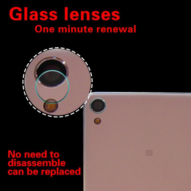 Film de verre trempé pour objectif de caméra arrière pour Sony Xperia X XZ Film de caméra en verre pour Sony XA Z Film de protection d'objectif de caméra arrière Ultra