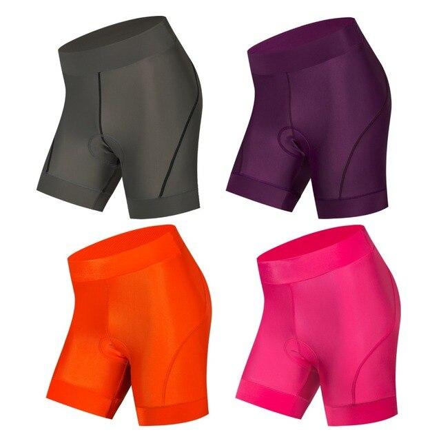 b8fb23d58 Coolmax 5D GEL Padded Cycling Shorts Women Shockproof MTB Bicycle Shorts  Road Bike Shorts Cycling Tights Pink Purple Gray Orange