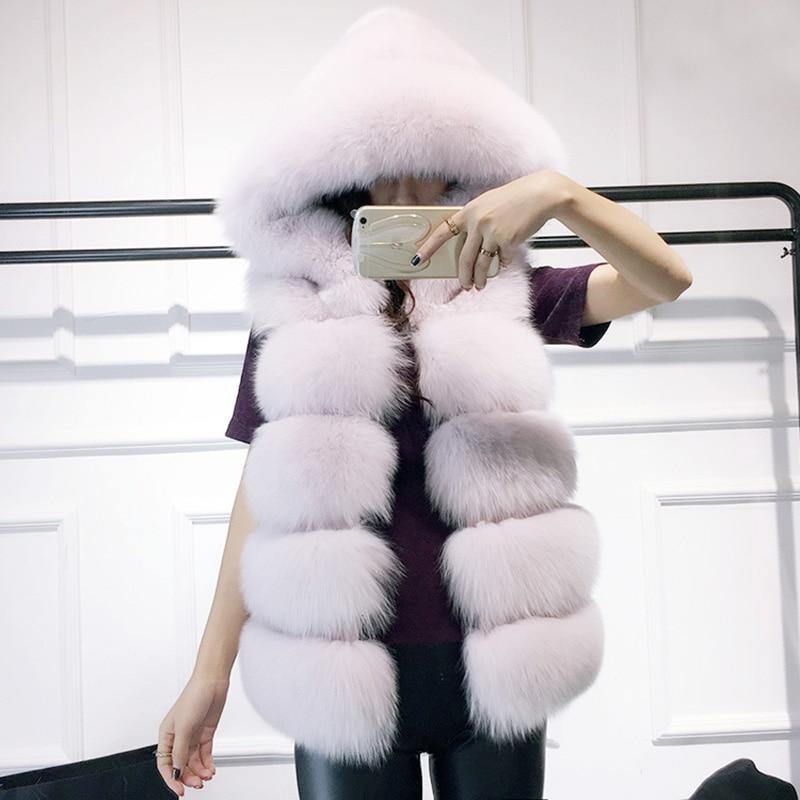Faux Fox Fur Vest 4
