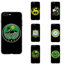 Cecena Coat Of Arms Tema Custodie Del Telefono di TPU Per il iPhone 6 7 8 S XR X Più di 11 Pro Max(China)