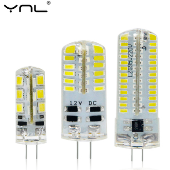 G4 LED Lamp 12V / 220V 1W 3W 6W Lampada LED Bulb 5730 SMD 2835 3014 Bombillas G4 Lamp Crystal Chandelier Lights Replace Halogen image