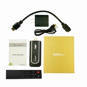 Image 5 - H96 Pro 4k Mini TV Stick Octa Core Amlogic S912 DDR3 2GB ROM 16GB Android 7.1 Mini PC 2.4G Wifi HD2.0 BT4.1 Smart Android TV box