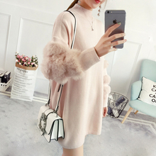 Women Sweaters and Pullovers Casual Oversized Sweater Christmas Winter Sleeve Pull Femme knitted jumpers