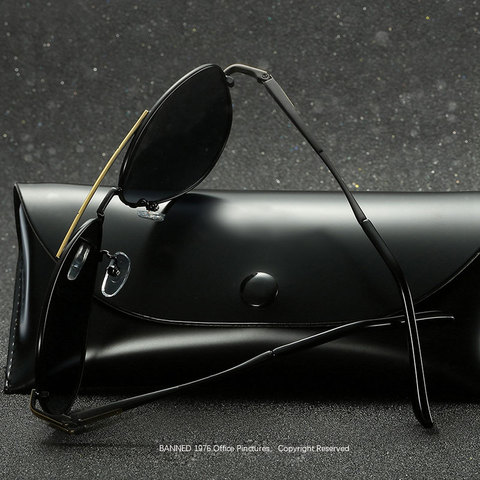 BANNED 1976 Men Polarized Brand Sunglasses Designer 2018 Fashion  Driving Sun Glasses Eyewear Accessories For Men oculos de sol Lahore