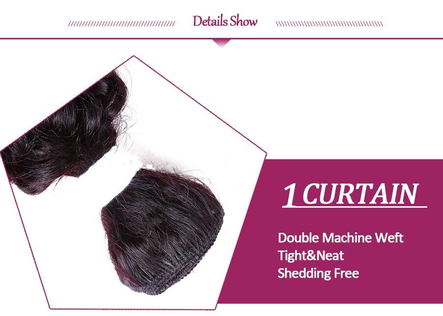 Weave Sew em Extensões Do Cabelo 8 pçs lote cabeça cheia