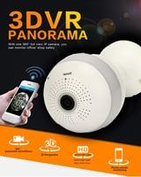 HD 1080P WIFI Panoramic Bulb 360 degree camera Wireless Fisheye IP Cam cctv Smart Home 3D VR Camera 2MP Home Security WiFi Cam