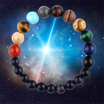 Women's Planet Themed Beaded Bracelet Bracelets Jewelry New Arrivals Women Jewelry Metal Color: 10 cm