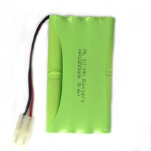 Brand New 9.6V 1800mAh 8x AA Ni-MH Rechargeable RC Battery Pack for Helicopter Robot Car Toys with Tamiya Connector Plug аккумулятор brightpower ni mh 5000мач 7 2в tamiya plug