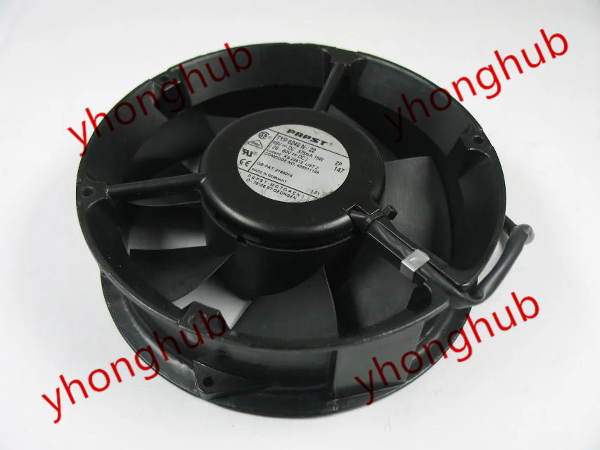 Free Shipping For Papst TYP 6248 N/22 DC 48V 18W 4-wire 4-pin 170x170x50mm Server Round fan free shipping for ebm papst typ 3412n 37gmv dc 12v 167ma 2w 4 wire 4 pin connector 110mm 90x90x25mm server square cooling fan