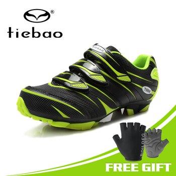 TIEBAO Professionele Fietsschoenen Mountainbike MTB Schoenen Mannen Mountainbike Fietsen Sneakers Fietsen Mannen Schoenen Mtb Sapata De Fiets