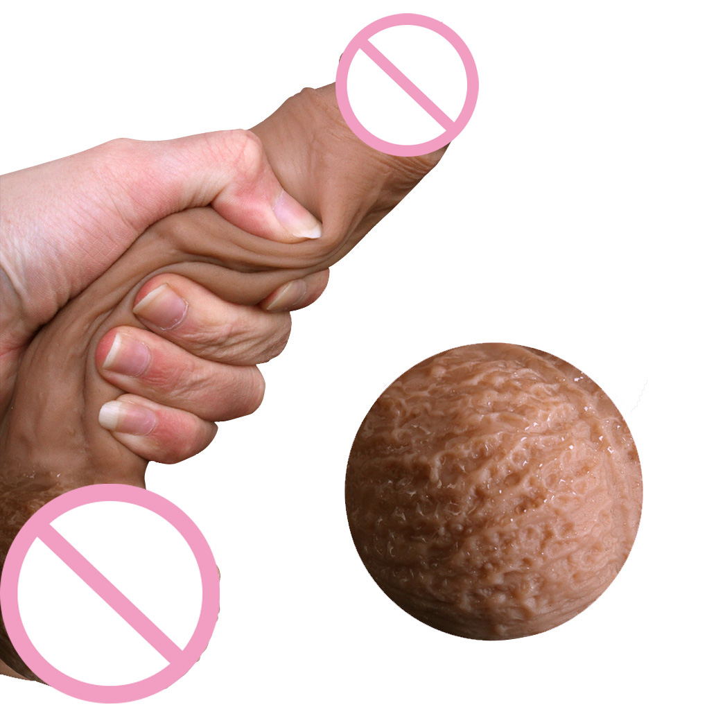 Simulation Super Realistic Penis Lifelike Silicone Dildo Suction Cup Dildos Sex Toys For Women Masturbation Sex Product auto handfree retractable piston pricky male masturbation cup for men penis massage aircraft cup passion cup adult sex products
