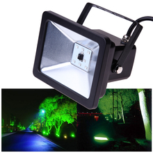 10 20 30W SMD 2835 Waterproof IP66 RGB Spotlight Outdoor Courtyard Square Station Floodlight Lamp LO