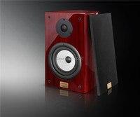DIY HIFI Amplificateurs Audio Stéréo SpeakersHave Une Fièvre Piano Fréquence De 6.5 Ampères Haut-parleurs D'étagère 2 Pièces