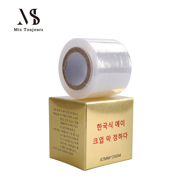 200m*40mm Transparent Tattoo Mask Film Plastic Wraps Cover Microblading Tattoo Permanent Makeup Accessories