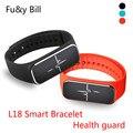 Новая Мода L18 Динамическая Кровяное Давление Мониторинга Сердечного ритма Смарт Браслет Мониторинг Сна Водонепроницаемый Bluetooth Браслет Спорта