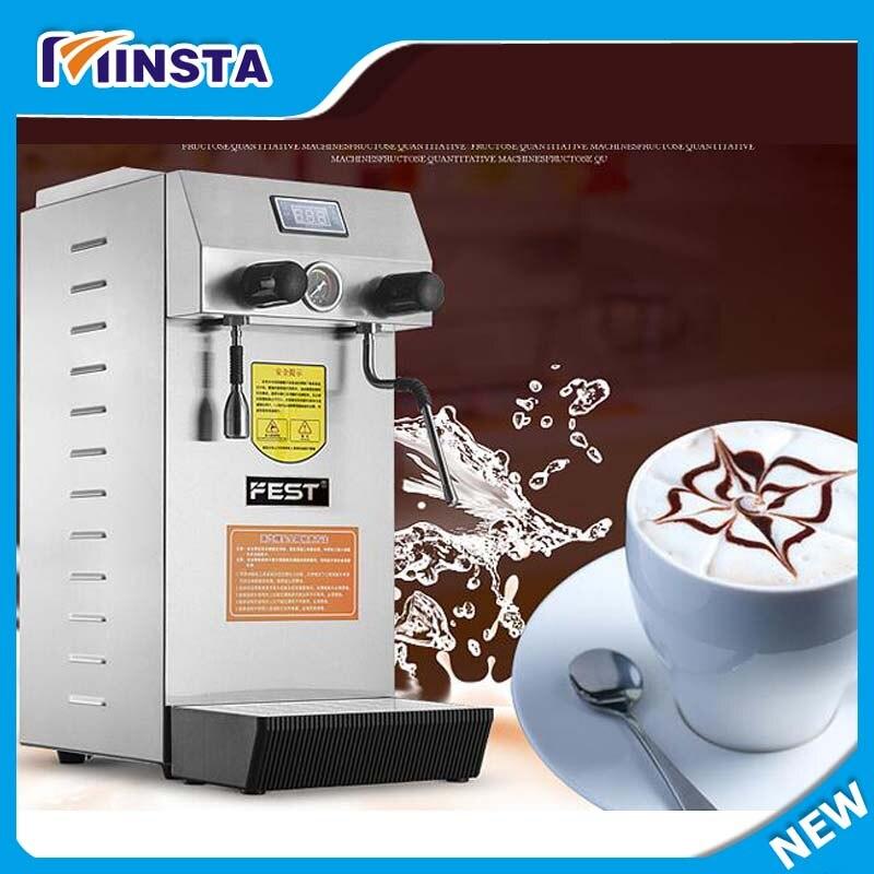 Café magasin Commercial lait mousse fabricant machine à eau chaude café mousse fabricants