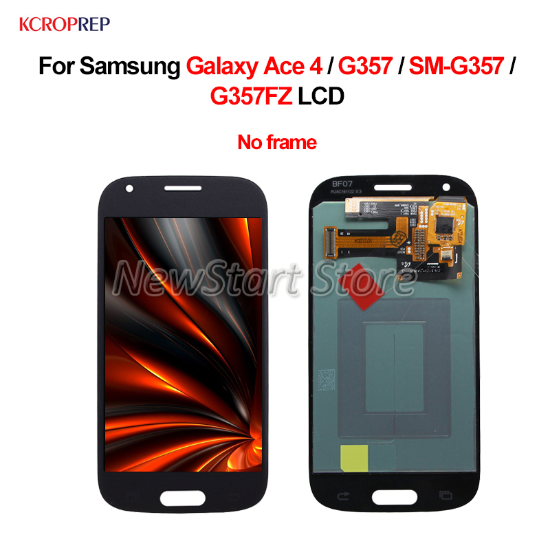 No Frame For Samsung Galaxy Ace 4 G357 LCD Display Touch Screen Digitizer Assembly 4.3 For Samsung SM G357 G357FZ lcd