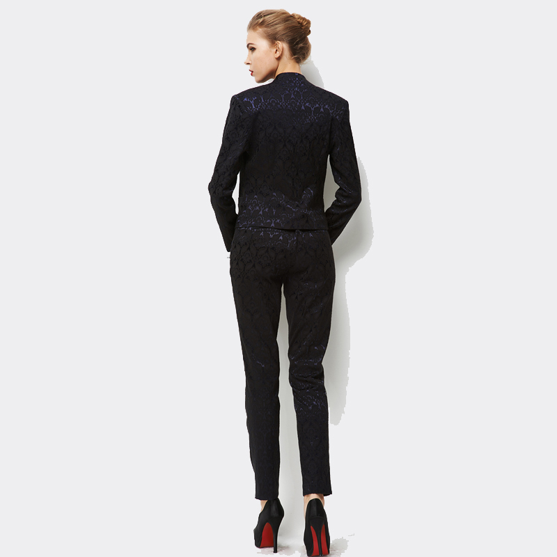 Women Formal Work Suit Blazer With Pants 2015 Spring and Autumn ...