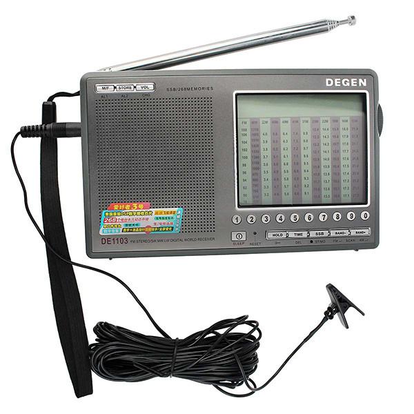 Hot Sale DEGEN DE1103 DSP Radio FM SW MW (8)