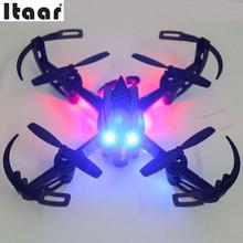 i4S 2.4Ghz 6 Axis Gyro RC Quadcopter 2.0MP Camera 3D Roll Drone RTF Black
