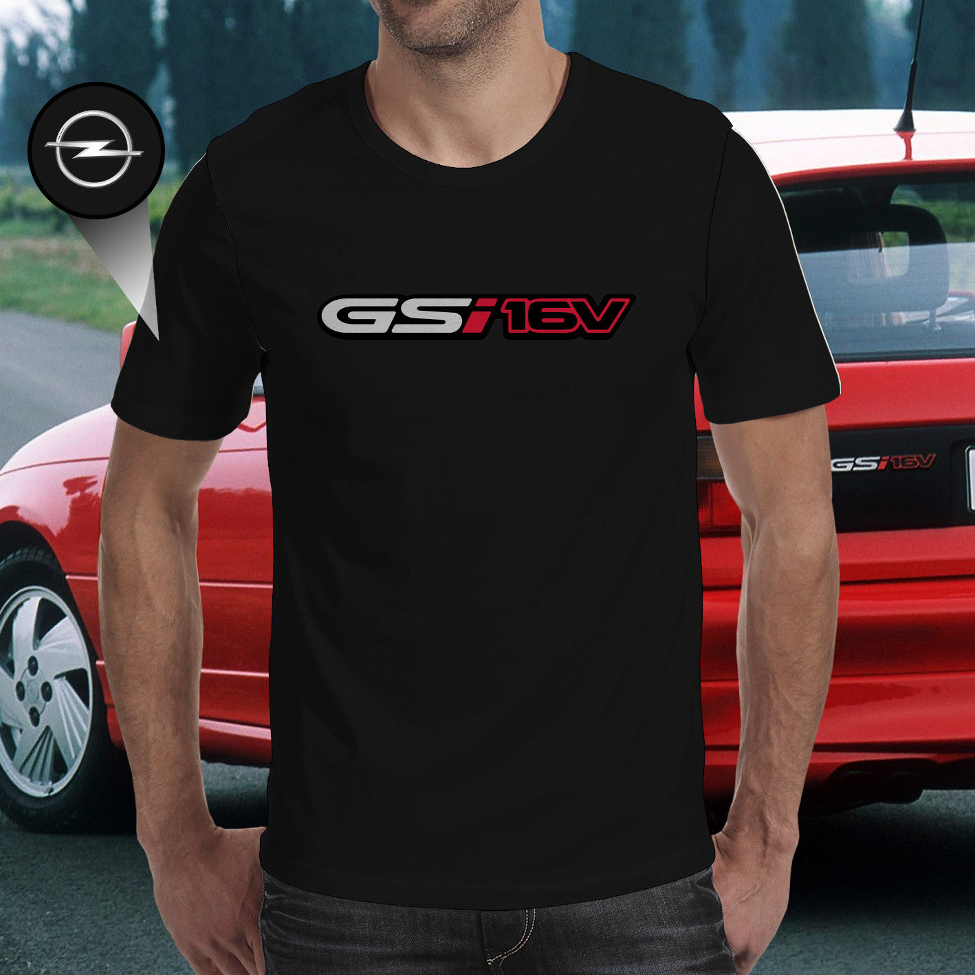 In The Garage Working on my Astra GSI Hoodie
