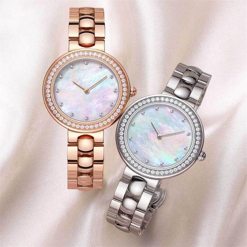 Xiaomi TwentySeventeen kryształ kwarcowy zegarek na rękę dla kobiet 64 sztuczny klejnot zegarek panie stylowy prezent bożonarodzeniowy 27 w Inteligentny pilot zdalnego sterowania od Elektronika użytkowa na AliExpress - 11.11_Double 11Singles' Day 1