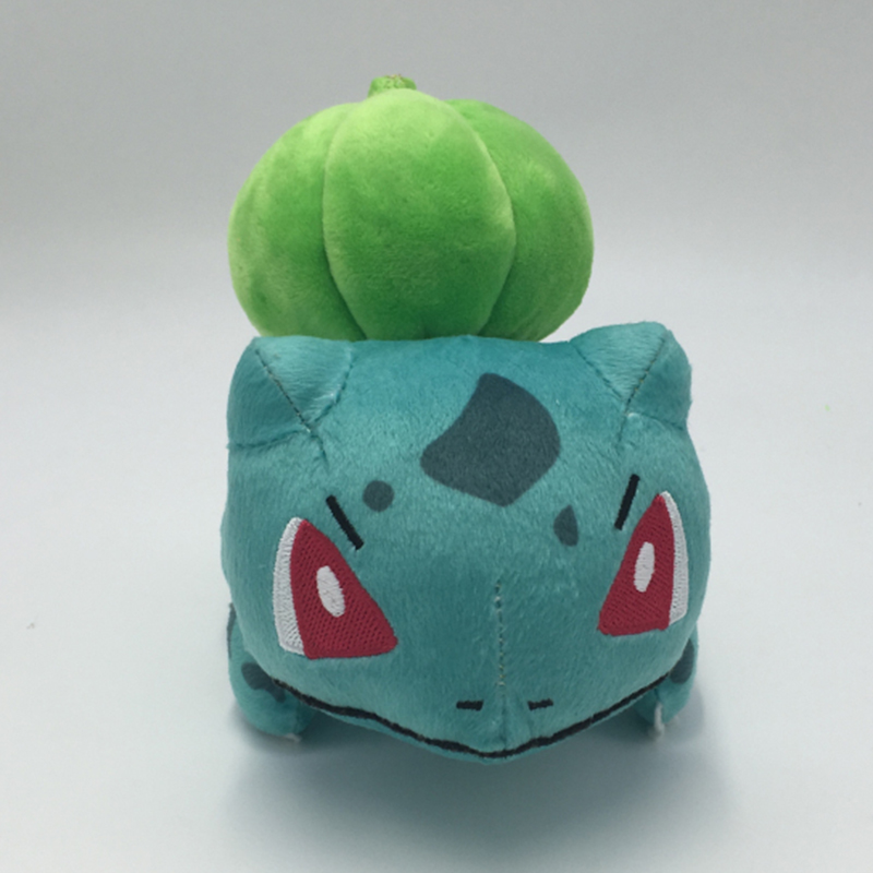 Cute Bulbasaur Plush Toys Baby Kawaii Genius Soft Stuffed Animals Doll for Kids Hot Anime Character Toys Children Birthday Gift one piece lage size 20inch baby toys pokemon xerneas doll a cute plush toys for children stuffed pp cotton high quality