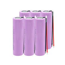 18650 Battery for samsung 3.7v Rechargeable batteries 2600maH Li ion ICR18650 26F Max.20A flashlight