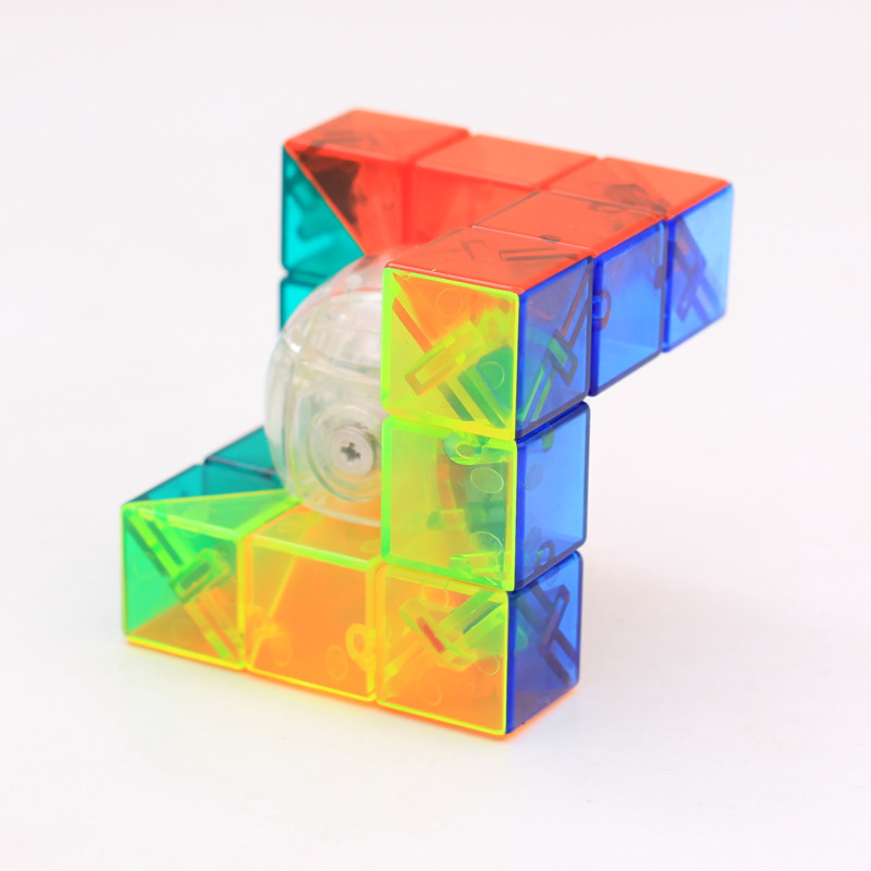 Mofangjiaoshi MFJS Geometry Cube Strange Shape Cube Speed Puzzle Toys For Children Three Style велосипед cube stereo 160 hpa race 27 5 2016