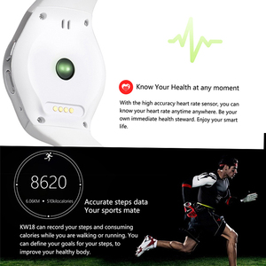 Image 5 - Kaimorui חכם שעון גברים Passometer צג קצב לב טלפון שעון כרטיס ה SIM עבור IOS אנדרואיד Bluetooth שעון חכם