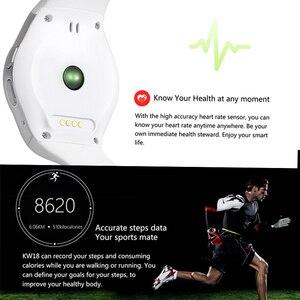 Image 5 - Kaimorui inteligentny zegarek mężczyźni Passometer monitora tętna zegarek telefonu karty SIM dla IOS Android Bluetooth zegarek inteligentny zegarek